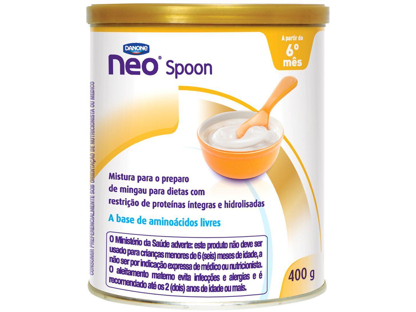 Mingau de Aminoácidos Livres Neo Spoon para - Restrição de Proteínas Íntegras e Hidrolisada 400g