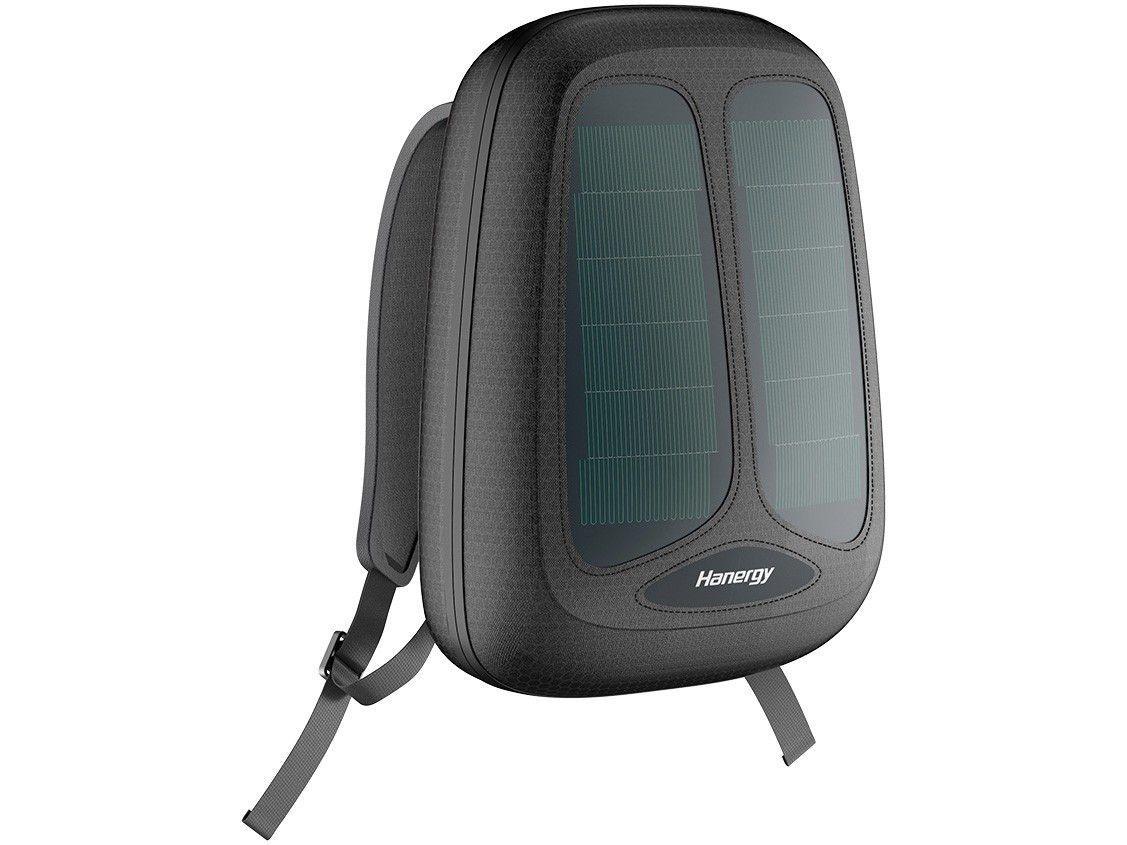 Mochila Solar para Notebook Hanergy Solartank - com Powerbank 5000mAh Preta