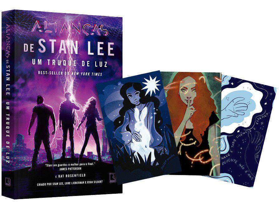 Livro Um Truque de Luz Vol. 1 - Stan Lee e Kat Rosenfield