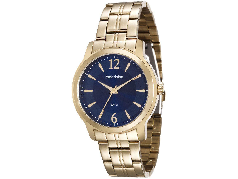 Relógio Feminino Analógico Mondaine - 99017LPMVDE1 Dourado