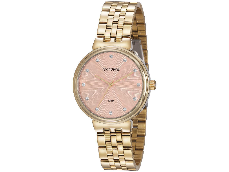 Relógio Feminino Analógico Mondaine - 99462LPMVDE2 Dourado