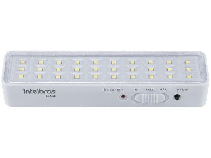 Luminária de Emergência 30 LEDs 100 Lumens - Intelbras LEA 30