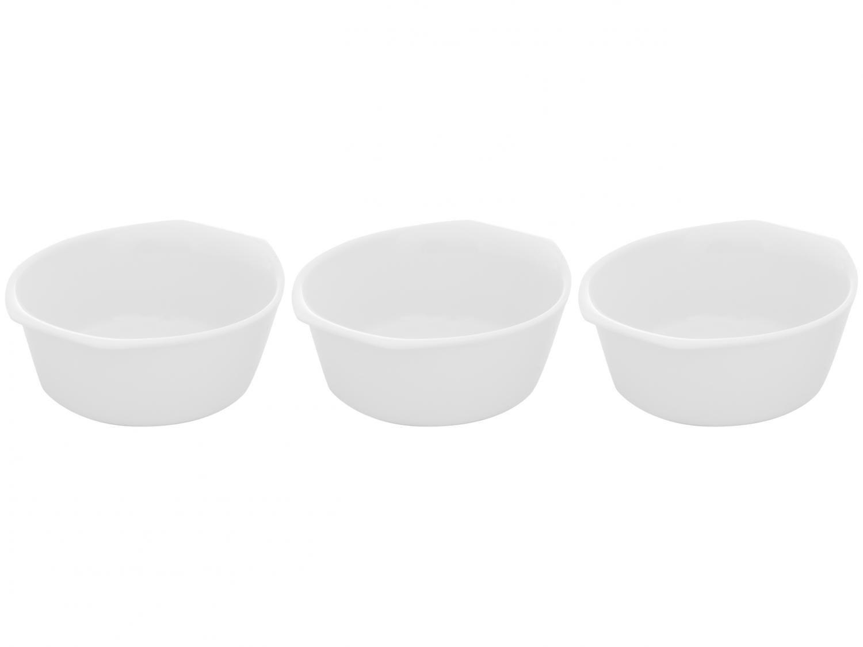 Jogo de Formas de Porcelana Schmidt Gastronômica - Set 3 Peças
