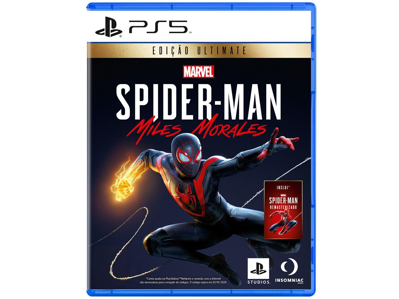 Marvels Spider-Man Miles Morales para PS5 - Insomniac Studios Ultimate Edition