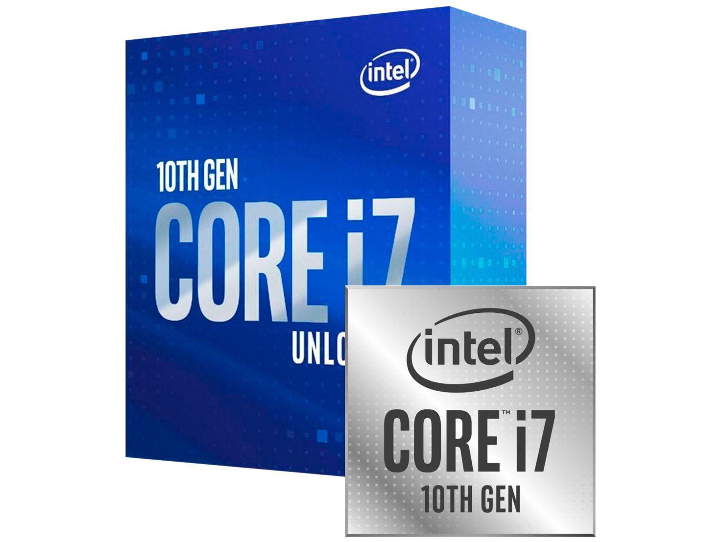 Processador Intel Core i7 10700K 3.80GHz - 5.10GHz Turbo 16MB