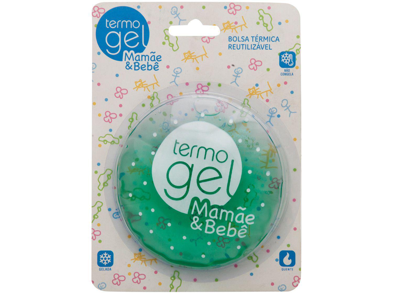 Bolsa Térmica Gel Termogel Quente e Frio P Verde - Mamãe e Bebê
