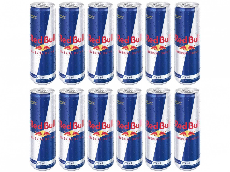 Bebida Energética Red Bull Energy Drink 473ml - 12 Unidades