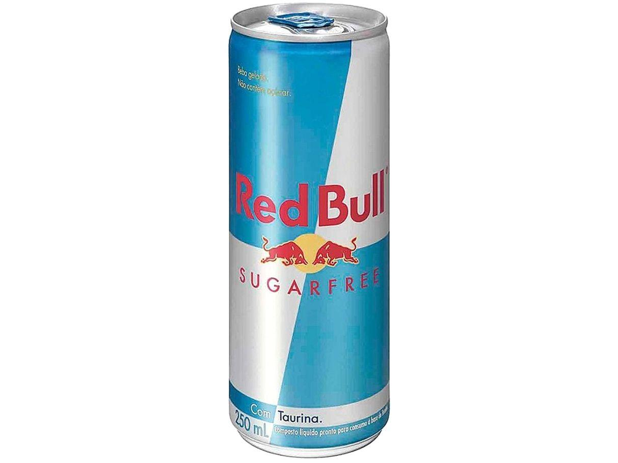 Bebida Energética Red Bull Sugarfree Zero Açúcar - 250ml