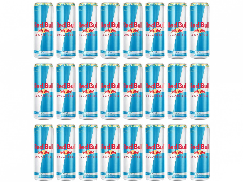 Bebida Energética Red Bull Sugarfree Zero Açúcar - 355ml 24 Unidades