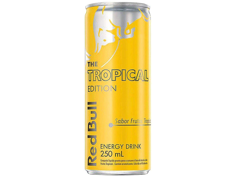 Bebida Energética Red Bull Tropical Edition - Frutas Tropicais 250ml