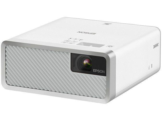 Projetor Epson Home Cinema EF-100W HD - Portátil 2000 Lumens Bluetooth HDMI Branco