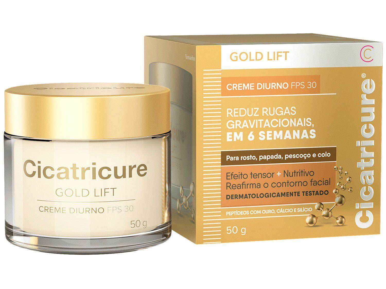 Creme Antissinais Facial Cicatricure Gold Lift - Diurno FPS 30 50g