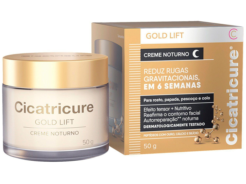 Creme Antissinais Facial Noturno Cicatricure - Gold Lift 50g