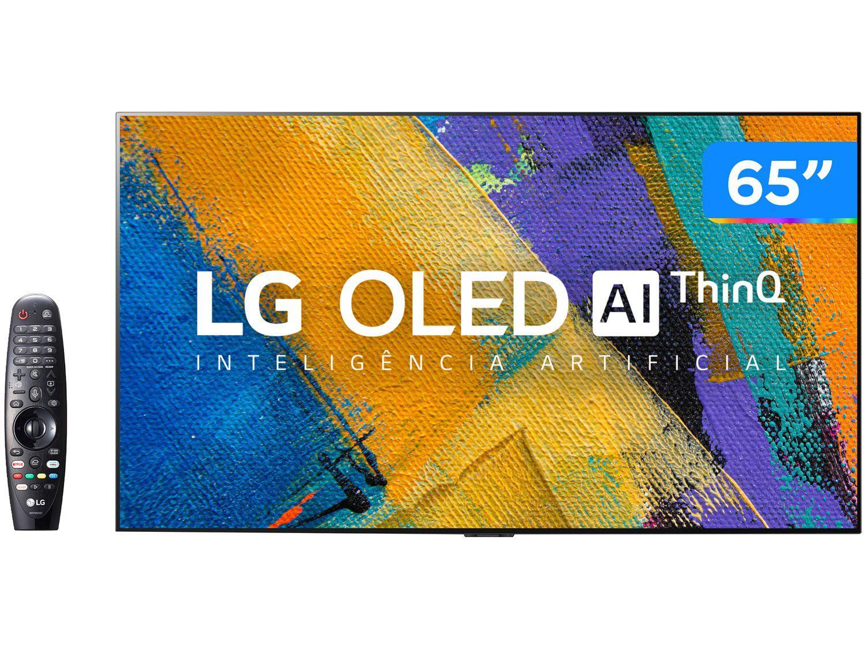 """Smart TV Ultra HD 4K OLED 65"""" LG OLED65GXPSA - Wi-Fi Bluetooth Inteligência Artificial 4 HDMI 3 U"""