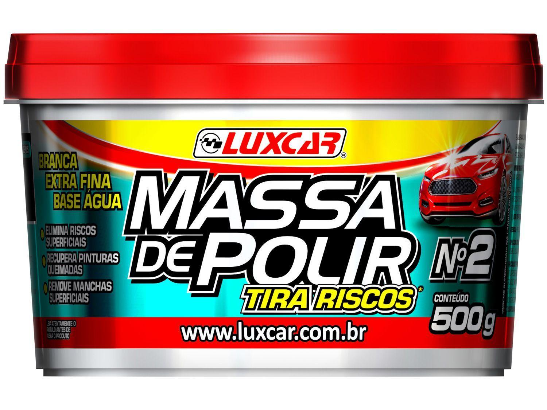 Massa de Polir Luxcar Tira Riscos 500g