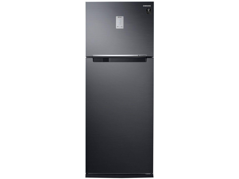 Geladeira/Refrigerador Samsung Frost Free Inverter - Duplex Black Look 460L PowerVolt Evolution RT46