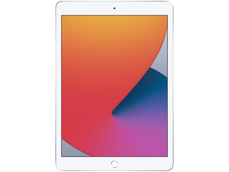 """iPad Tela 10,2"""" 8ª Geração Apple Wi-Fi 128GB - Prateado"""
