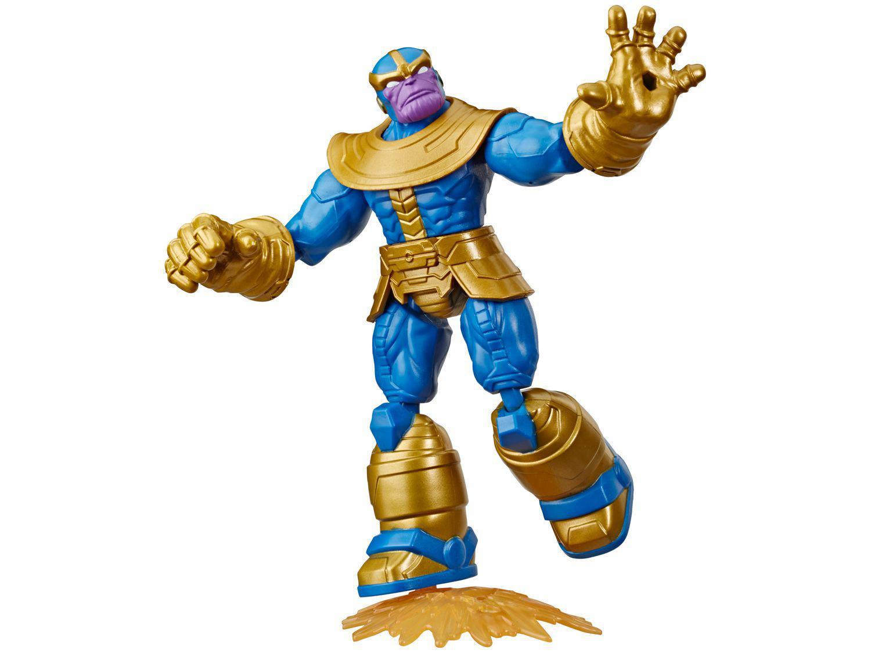 Boneco Thanos Marvel Vingadores Bend and Flex - 22,8cm com Acessórios Hasbro