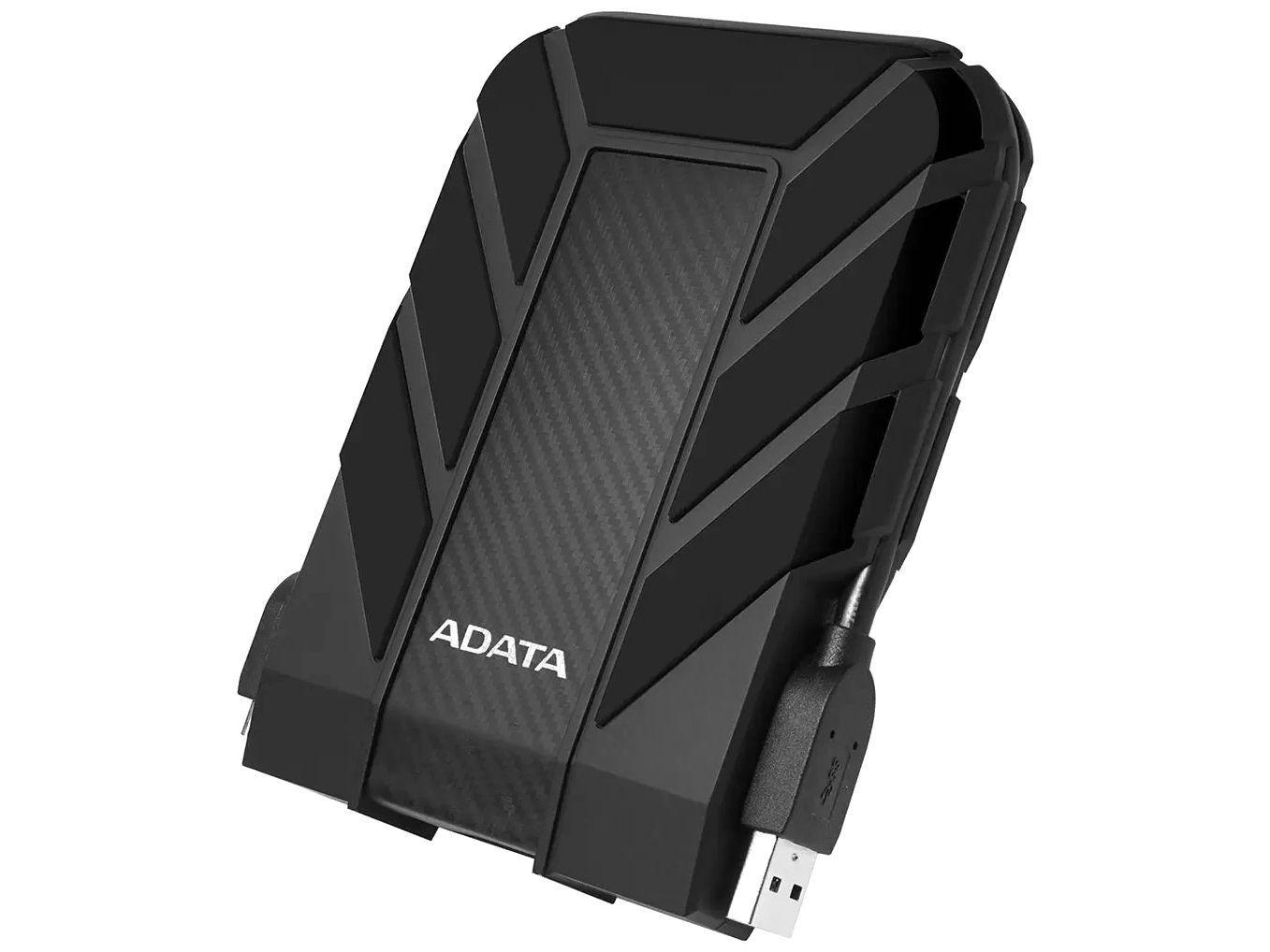 HD Externo 2TB Adata À Prova dágua - AHD710P-2TU31-CBK USB 3.1