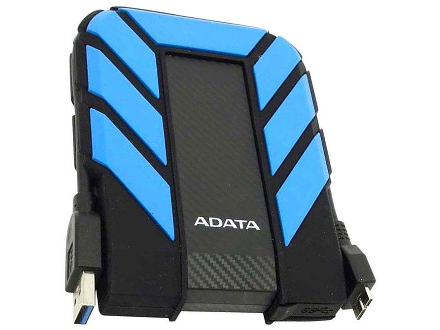 HD Externo 2TB Adata À Prova dágua - AHD710P-2TU31-CBL USB 3.1
