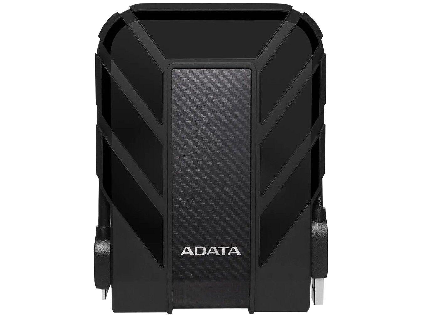 HD Externo 4TB ADATA à Prova dÁgua - AHD710P-4TU31-CBK USB 3.1