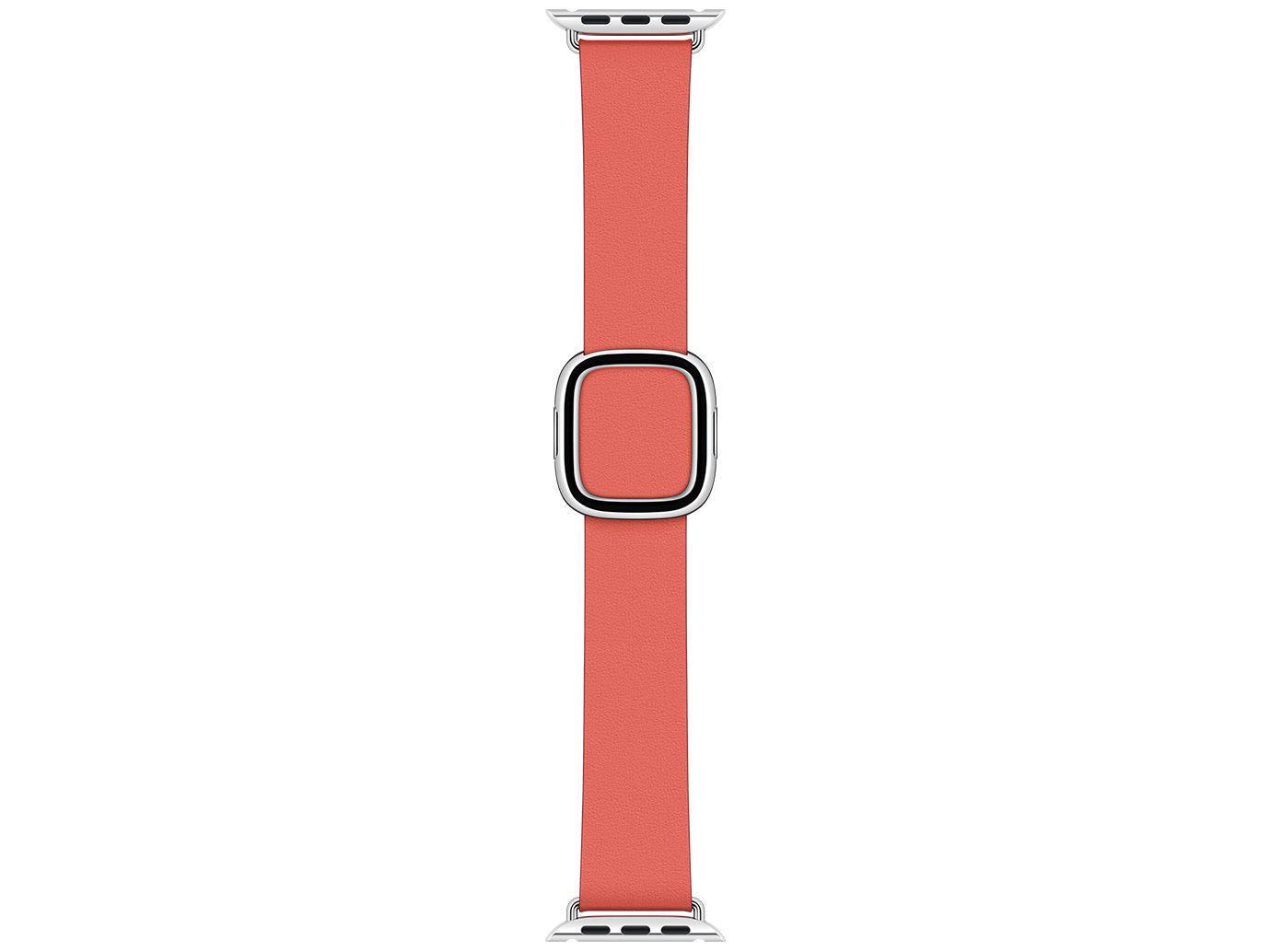 Pulseira Apple Watch Fecho Moderno em Couro 40mm - Rosa Cítrico Original