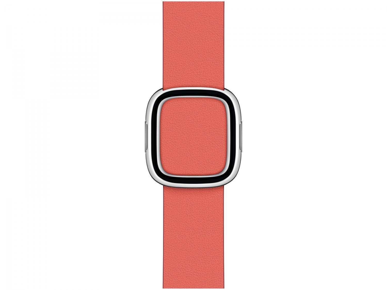 Pulseira Apple Watch Fecho Moderno Couro 40mm - Rosa Cítrico Original
