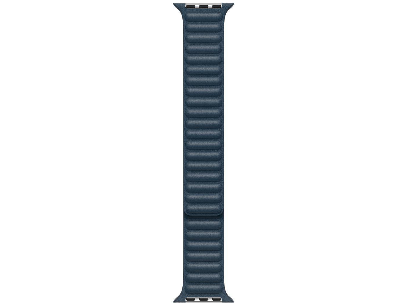 Pulseira Apple Watch Elos em Couro 44mm - Azul Báltico Original
