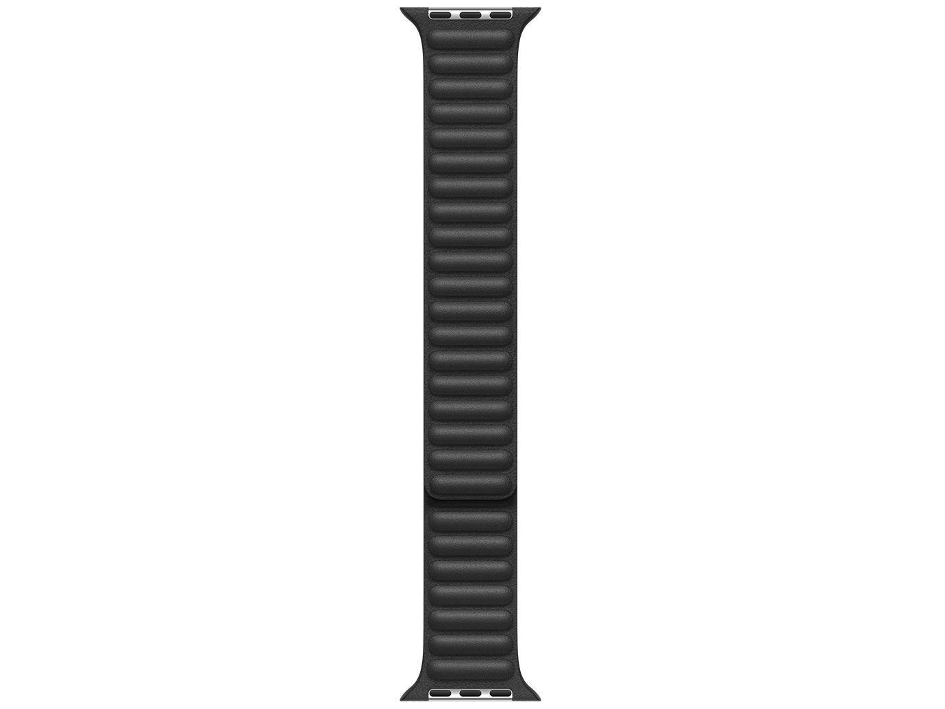 Pulseira Apple Watch Elos em Couro 44mm Preta - Original