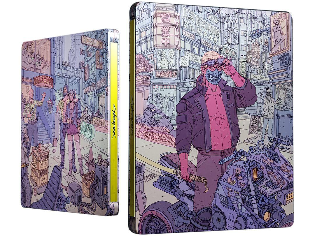 Cyberpunk 2077 para Xbox One CD Projekt Red - Steelbook Tyger Claws