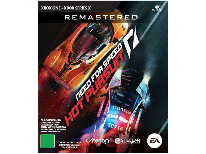 Need for Speed Hot Pursuit Remastered - para Xbox One Criterion Games