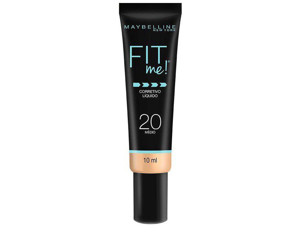 Corretivo Facial Líquido Maybelline Fit Me! - 20 Médio 10ml