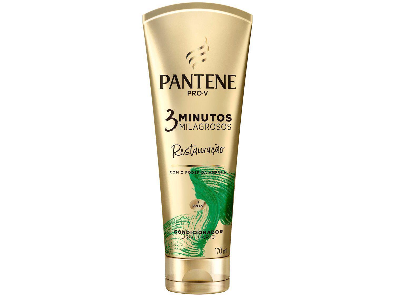 Condicionador Pantene 3 Minutos Milagrosos - Restauração 170ml