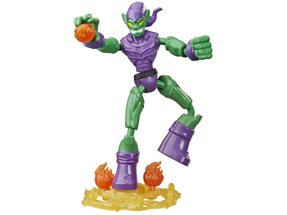 Boneco Duende Verde Homem-Aranha Bend and Flex - 22,8cm Hasbro