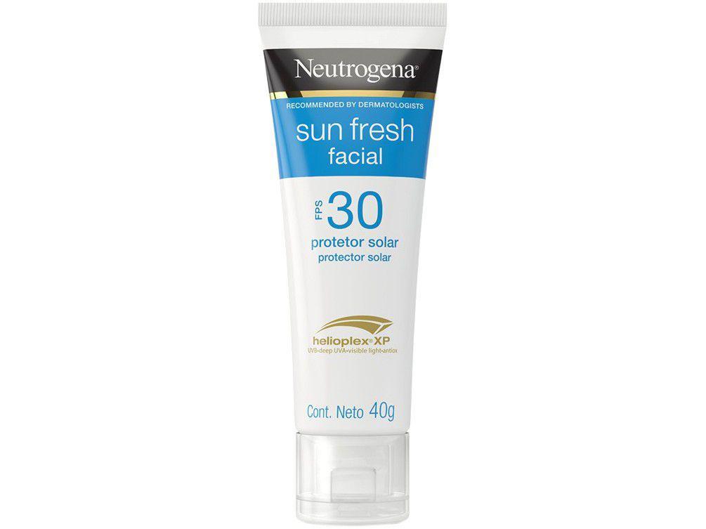 Protetor Solar Facial Neutrogena FPS 30 - Sun Fresh 40g