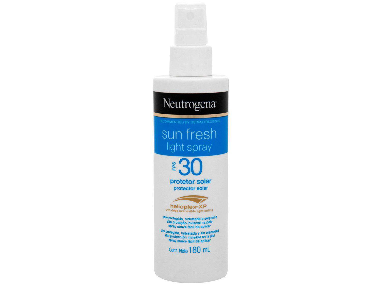 Protetor Solar Corporal Neutrogena FPS 30 - Sun Fresh Light Spray 180ml