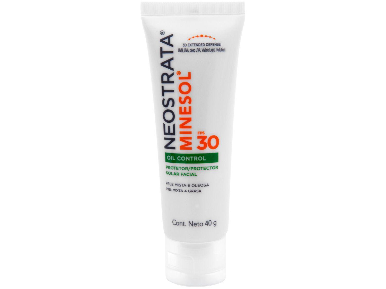 Protetor Solar Facial Neostrata FPS 30 Oil Control - Minesol 40g
