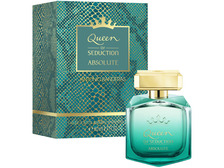Perfume Antonio Banderas Queen Of Seduction - Absolutely Feminino Eau de Toilette 80ml
