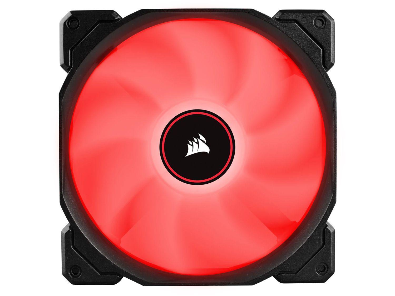 Cooler FAN Intel AMD LED Vermelho Corsair AF140