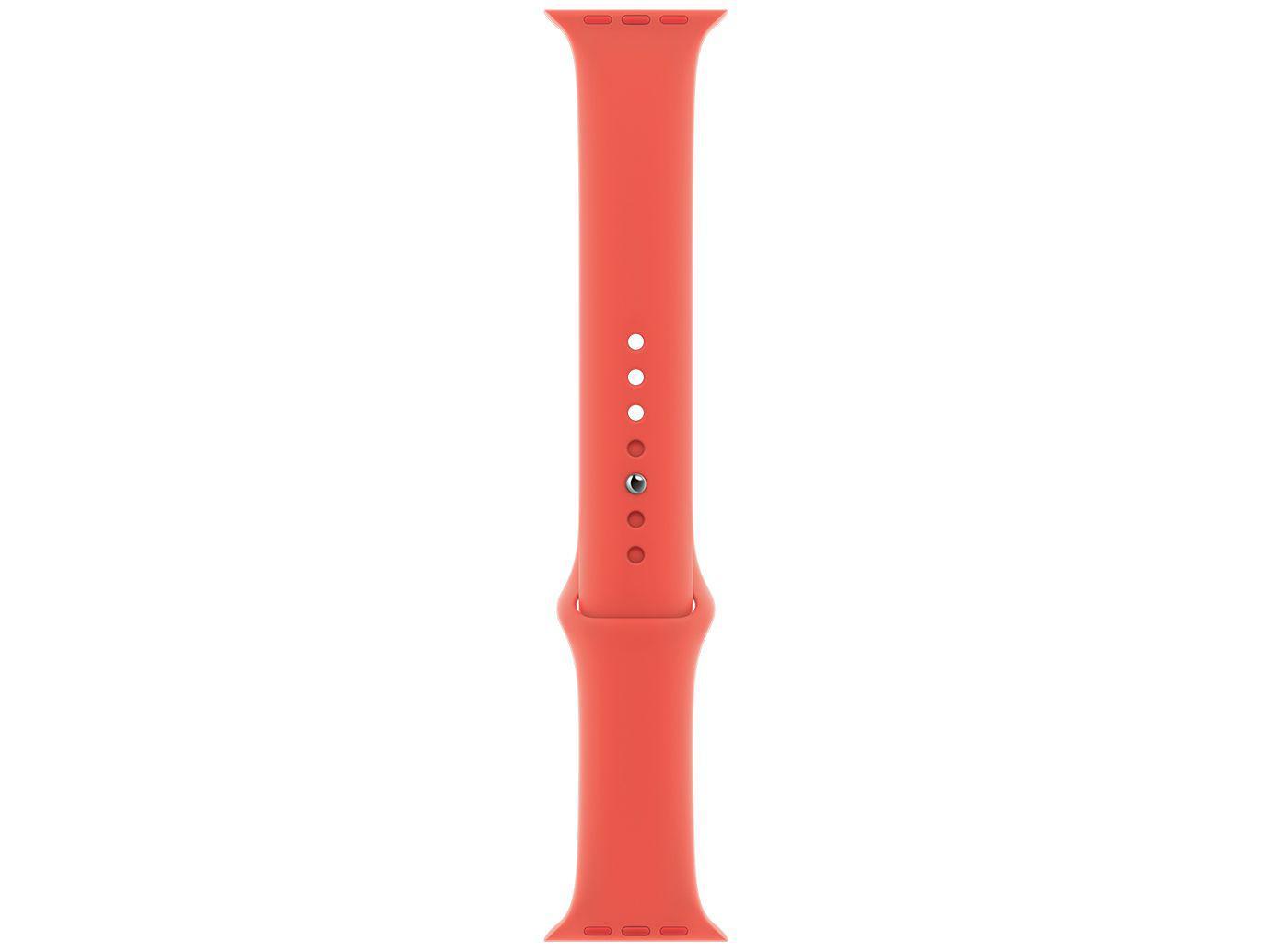 Pulseira Apple Watch Esportiva 44mm Rosa Cítrico - Original