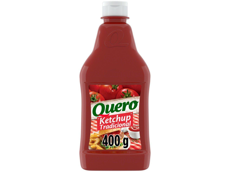 Ketchup Tradicional Quero - 400g