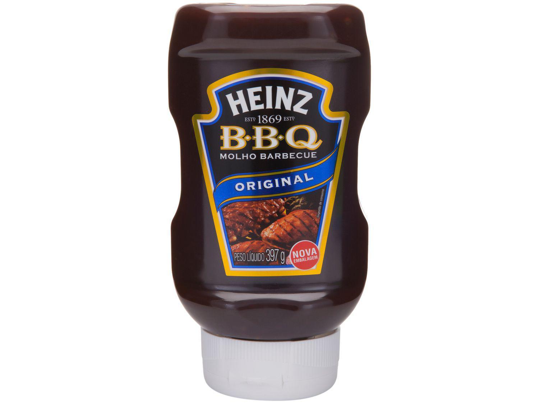 Molho Barbecue Heinz Original - 397g