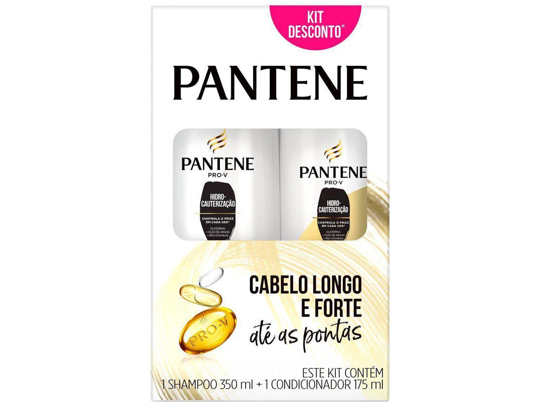 Shampoo Pantene Hidrocauterização 350ml - e Condicionador 175ml