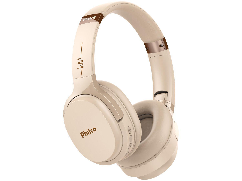 Headphone Bluetooth Philco Wave PFO01BTG - com Microfone Dourado