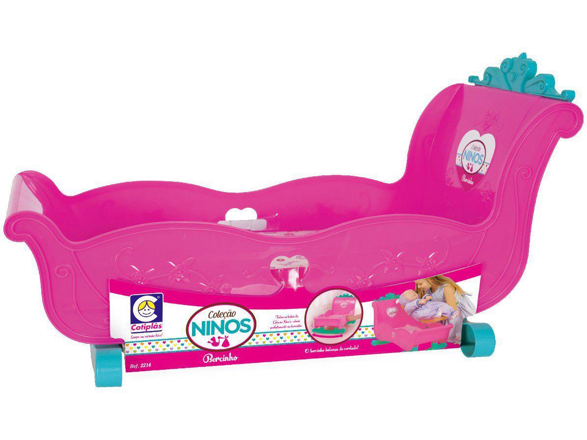 Berço de Brinquedo Cotiplás - Ninos Baby