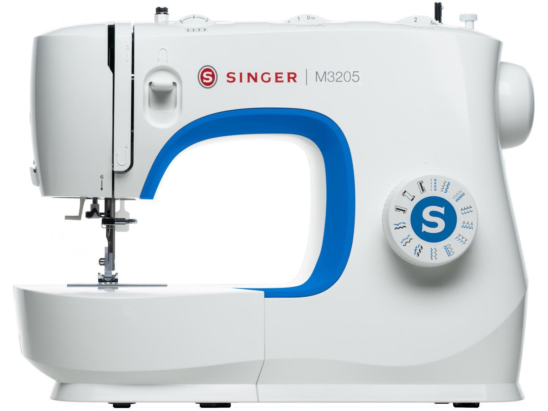 Máquina de Costura Singer M3205 Portátil - 23 Pontos