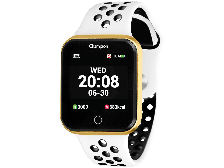 Smartwatch Champion CH50006B Branco - 43mm 512K