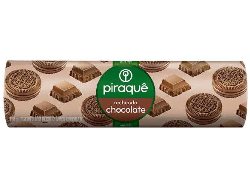 Biscoito Recheado Chocolate Piraquê - 160g