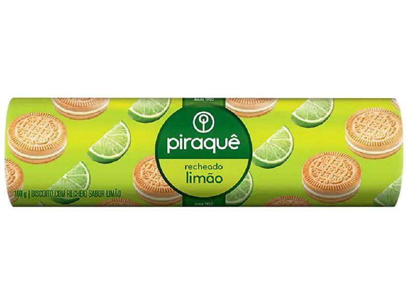 Biscoito Recheado Limão Piraquê - 160g