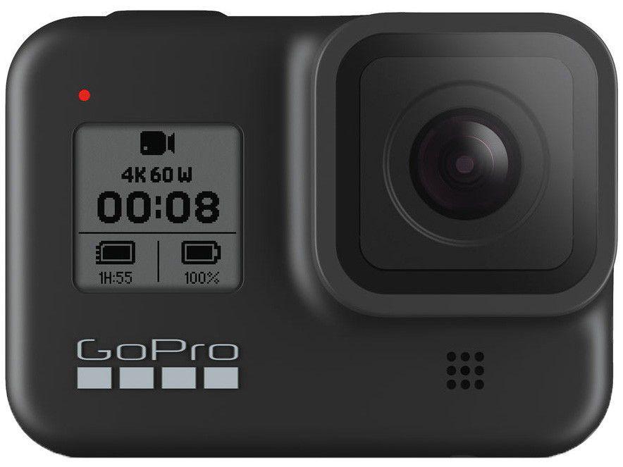 GoPro Hero 8 Black 12MP 4K60 Wi-Fi Bluetooth GPS - à Prova de Água